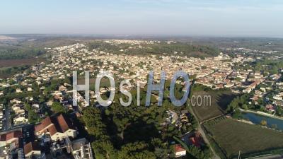 Vue Aérienne De Bellegarde - Vidéo Drone En été