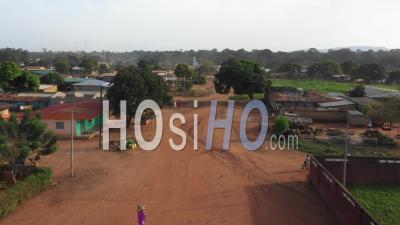 Afrique - Côte D'ivoire - Tabagne - Vidéo Drone