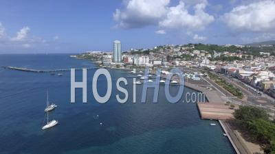 Fort-de-France Aerial Videos, photos by drone and timelapses of Fort-de-France from above