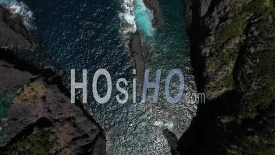 Piscine Naturelle Aux Açores Vidéo Drone