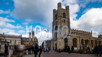Great St Mary's Church In Cambridge