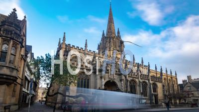 St Mary The Virgin Cathedral In Oxford