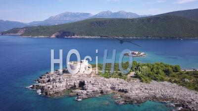 Montenegro Fort Azra From A Drone