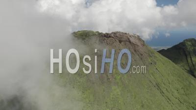 Grande Soufriere Volcano, Guadeloupe - Video Drone Footage