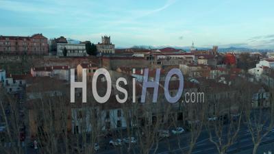 Perpignan - Aerial Video By Drone