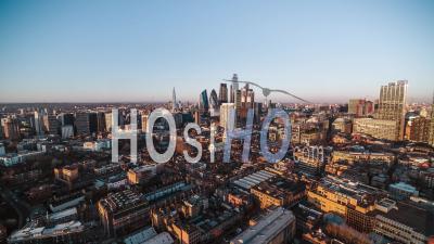 Londres, Royaume-Uni - Vidéo Aérienne Par Drone