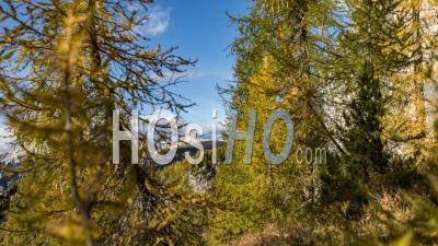 Dolomites Timelapse In Autumn
