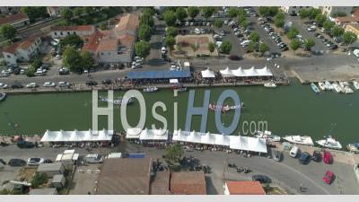 Joute à Frontignan, Filmé Par Drone En été