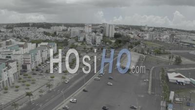 Pointe A Pitre Pendant Le Confinement, Guadeloupe - Vidéo Par Drone