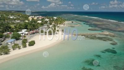 Beach Of Sainte-Anne , Guadeloupe - Aerial Photography - Aerial Photography