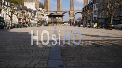 Lieu Vide De Morlaix Pendant La Quarantaine Covid 19, Bretagne, France