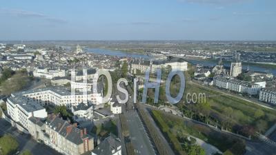 Vue Aérienne De Blois - Vidéo Drone