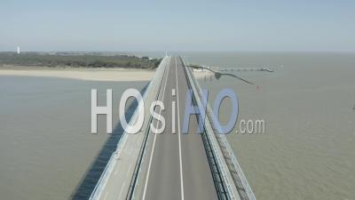 Pont De Noirmoutiers Sans Voiture Vu Par Drone