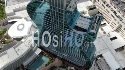 Seminole Hard Rock Guitar Hotel And Casino - Hollywood, Florida - Video Drone Footage