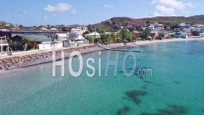Confinement Pour Covid-19 à Trois-Ilets, Martinique, Par Drone