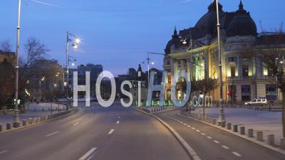 Bucharest Streets On Lock Down