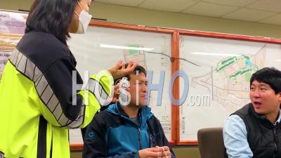 2020 - During The Coronavirus Covid-19 Outbreak In South Korea, All Citizens Are Taught To Wear Masks, Which Saved Many Lives.