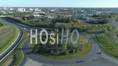 Rond-Point Nord De Blois - Vidéo Drone