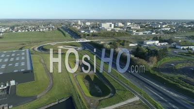 Autoroute De Blois - Vidéo Drone