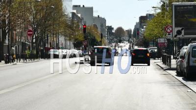 Covid19 – Avenue D'italie, Paris, Paris 13, France