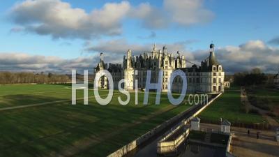 The Majestic Chateau De Chambord - Video Drone Footage