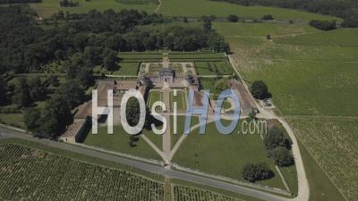 Château De Malle, Vidéo Drone