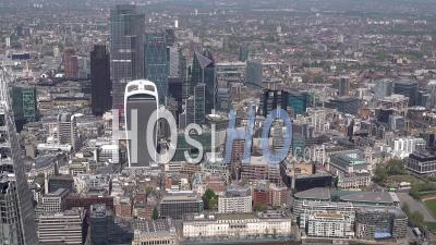 City Of London, St Katharine Docks Marina, Tower Of London, Tower Bridge During Covid-19 Lockdown, London Filmed By Helicopter