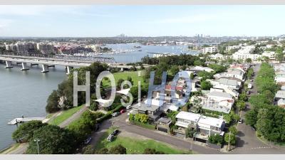 Rozelle Et Iron Cove - Vidéo Drone