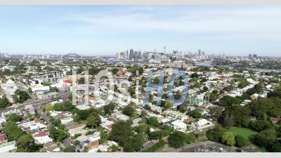 Sydney Et Rozelle Lent Suivi - Vidéo Drone
