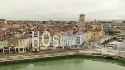 La Rochelle Drone Point Of View During Covid-19 Outbreak