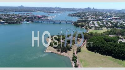 Survol De Iron Cove Et Balmain - Vidéo Drone