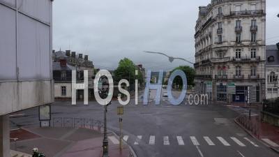 Départ Du Défilé Du 1er Mai, Place Tourny - Séquences Vidéo Du Drone