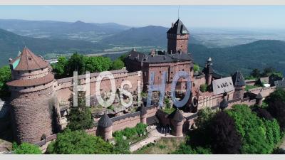 Château Du Haut-Koenigsbourg, Orschwiller – Vidéo Par Drone