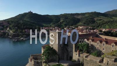 Château Royal De Collioure, Vidéo Par Drone