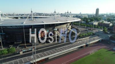 Stade De France, Saint Denis. Vue Aérienne Par Drone