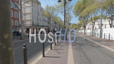 Marseille Au 12e Jour Du Confinement Du Au Covid-19, France - Hyperlapse Video Au Sol