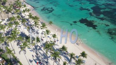 Vue Aérienne De Punta Cana - Séquence De Drone Vidéo