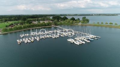 Sailing Club Lac Du Der Chantecoq - Vidéo Aérienne Par Drone