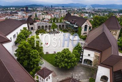 Ljubljana Castle (ljubljanski Grad), Ljubljana Old Town, Slovenia, Europe
