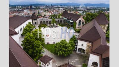 Château De Ljubljana (ljubljanski Grad), Vieille Ville De Ljubljana, Slovénie, Europe