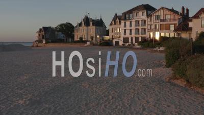 La Baule Beach Sunrise Beach House France Loire Atlantique - Vidéo Drone