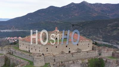 Fort De Bellegarde - Vidéo Par Drone