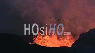 Eruption Of The Bardarbunga Volcano In Iceland