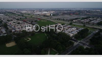 Vue Aérienne Des Stades En Pennsylvanie - Vidéo Par Drone