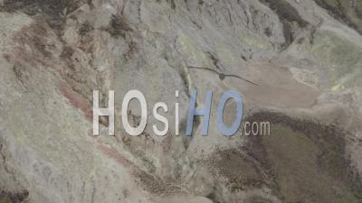 Alcedo Volcanos In Isabela Island 2 - Video Drone Footage