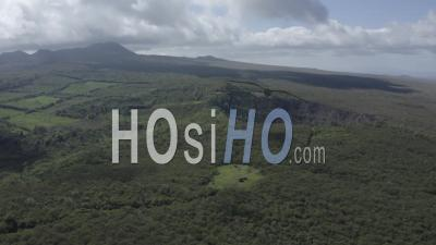 Craters In Santa Cruz Island - Video Drone Footage