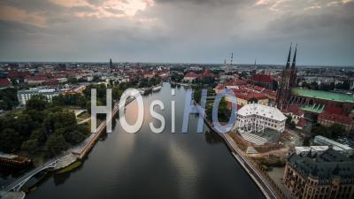 Ostrow Tumski, Cathédrale Saint-Jean-Baptiste, Katedra Swietego Jana Chrzciciela, Vieille Ville, Stare Miasto, Wroclaw