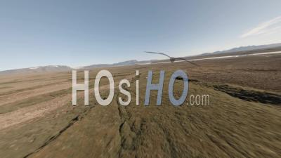 Fpv Drone Flying Through A Tent In Iceland