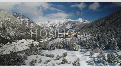 Fort-Dauphin, Unesco World Heritage, Above Briancon, Hautes-Alpes, France, Viewed From Drone