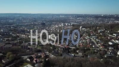 Aerial View Nancy - Video Drone Footage